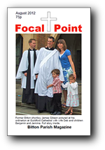 August 2012 Focal Point Cover