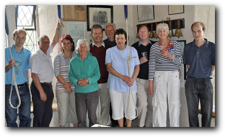 St Mary's Ringers - May 2011